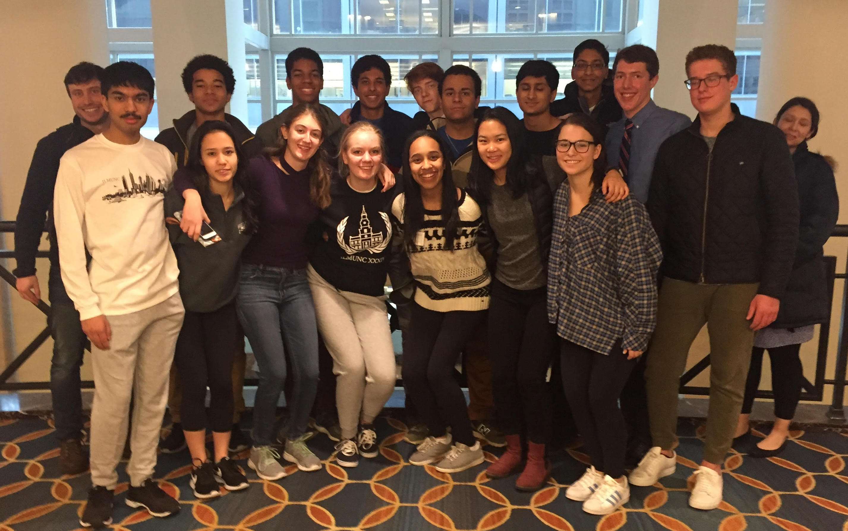 Model UN Participates in 34th Annual ILMUNC
