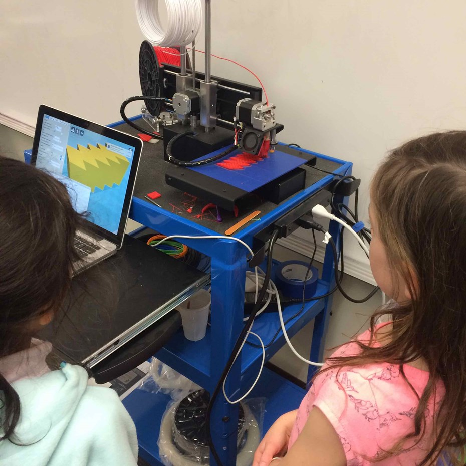 3D Printing at Lower School