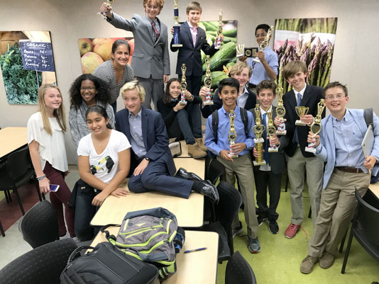 Debate Team Earns Top Spot